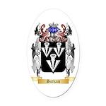 Sotham Oval Car Magnet