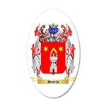 Sotelo 35x21 Oval Wall Decal