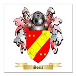 Soria Square Car Magnet 3