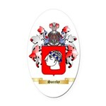 Soreby Oval Car Magnet