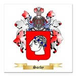 Sorby Square Car Magnet 3