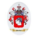 Sorbey Oval Ornament