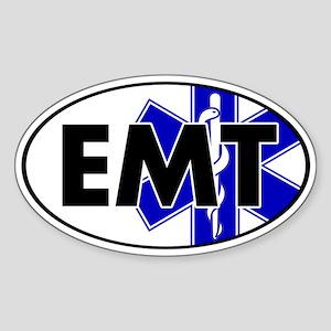 EMT Oval w/SOL Oval Sticker