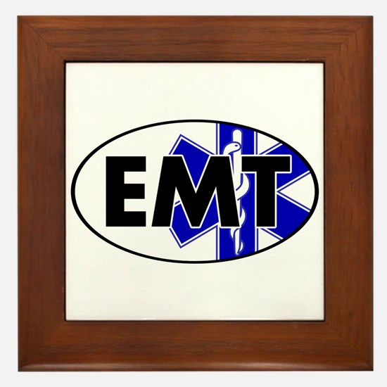 EMT Oval w/SOL Framed Tile