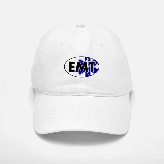 EMT Oval w/SOL Baseball Baseball Cap