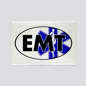 EMT Oval w/SOL Rectangle Magnet