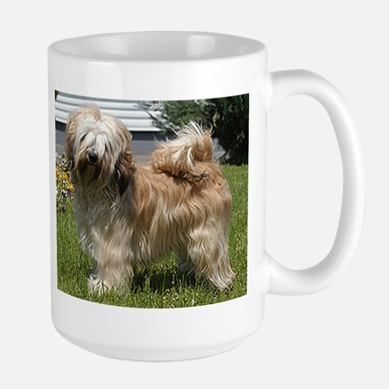 tibetan terrier full Mugs