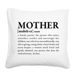 Mother Square Canvas Pillow