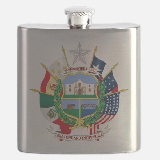 Remember the Alamo Flask