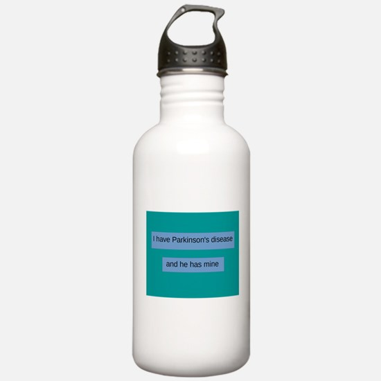 I have Parkinson's dis Water Bottle