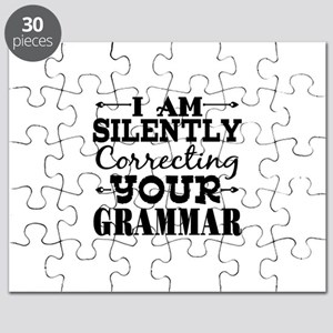 I am Silently Correcting Your Grammar Puzzle