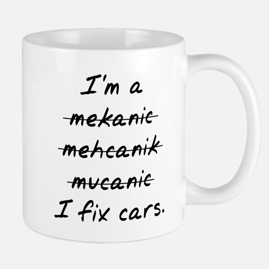 I Fix Cars Mugs