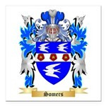Somers Square Car Magnet 3