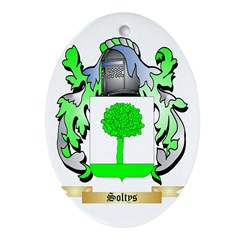 Soltys Oval Ornament