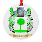 Solta Round Ornament