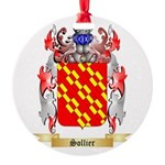 Sollier Round Ornament