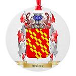 Solero Round Ornament