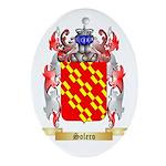 Solero Oval Ornament