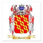 Soleri Square Car Magnet 3
