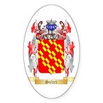 Soleri Sticker (Oval 10 pk)