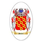 Soleri Sticker (Oval 50 pk)