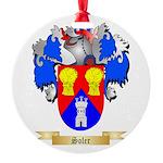 Soler Round Ornament