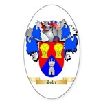Soler Sticker (Oval 50 pk)