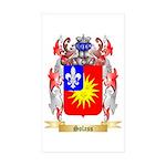 Solass Sticker (Rectangle 50 pk)