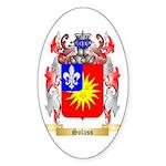 Solass Sticker (Oval 50 pk)