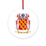 Solario Round Ornament