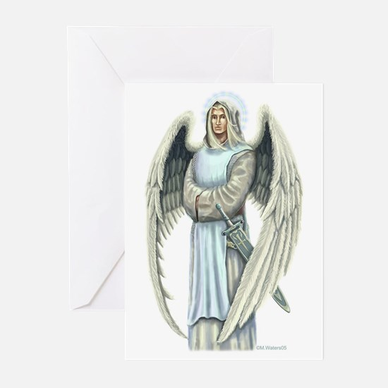 Saint Archangel Raphael Greeting Cards
