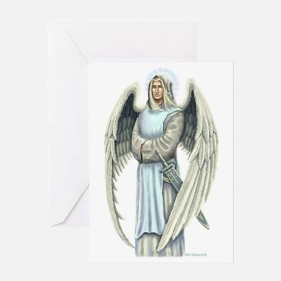 Saint Archangel Raphael Greeting Cards
