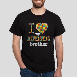 Autistic Brother Dark T-Shirt