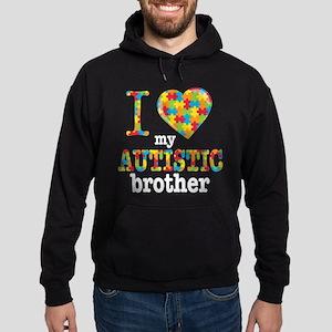 Autistic Brother Hoodie (dark)