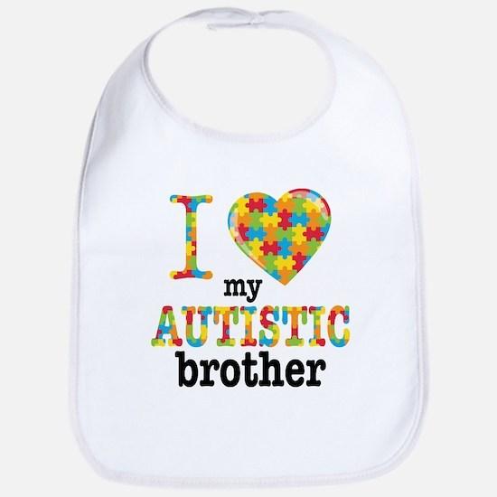 Autistic Brother Bib