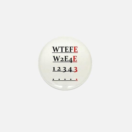 WTEFE Logo Mini Button