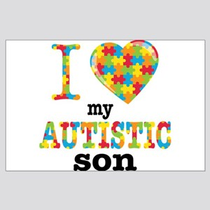 Autistic Son Large Poster