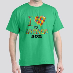 Autistic Son Dark T-Shirt