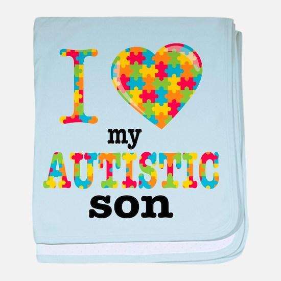 Autistic Son baby blanket