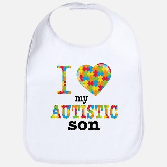 Autistic Son Bib