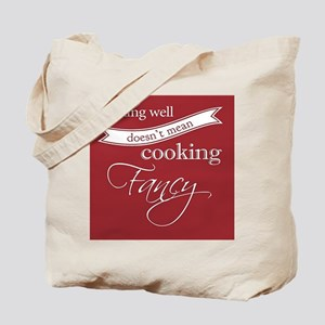 Cooking Well Tote Bag