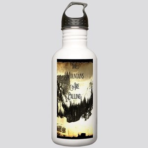 vintage mountains are Stainless Water Bottle 1.0L