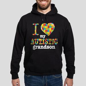 Autistic Grandson Hoodie (dark)