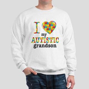 Autistic Grandson Sweatshirt