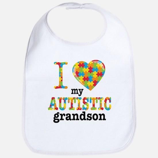 Autistic Grandson Bib