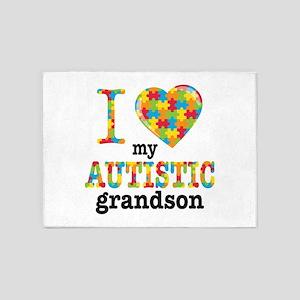 Autistic Grandson 5'x7'Area Rug