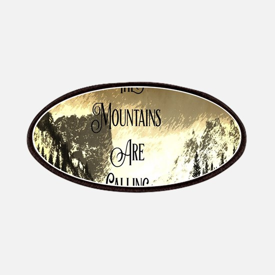 vintage mountains are calling Patch