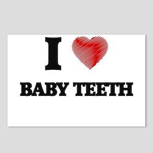 I love Baby Teeth Postcards (Package of 8)