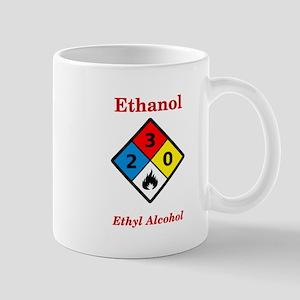 Ethanol MSDS Label Mugs