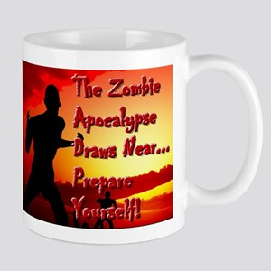 Zombie Apocalypse Draws Near Mugs